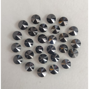 1.8 mm to 1.9 mm Size Loose Calibrated Black Diamond For Fashion Rings | Round Cut Diamonds